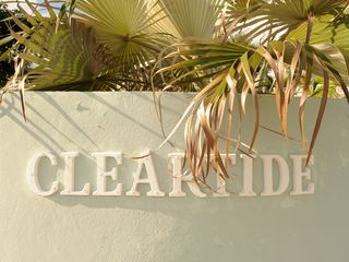 Governor's Harbour house photo - Cleartide sign