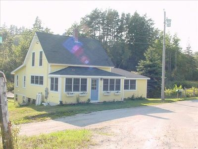 Front of Mill Cove Cottage