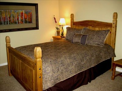 MASTER BEDROOM  - Queen bed, flat screen TV, pure relaxation!