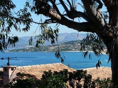 Comfortable villa with stunning views over the Gulf of Ajaccio