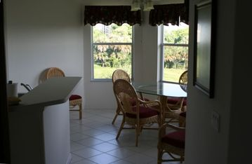 Dining/Breakfast Nook with Views of Green Space