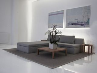 Milan apartment photo - Living room at night