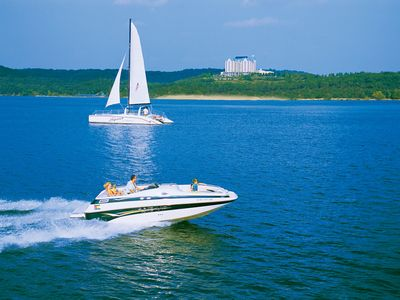 Enjoy a day on the lake! Photo courtesy Branson Chamber of Commerce.