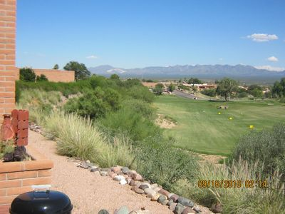 Green Valley villa rental - View from covered patio
