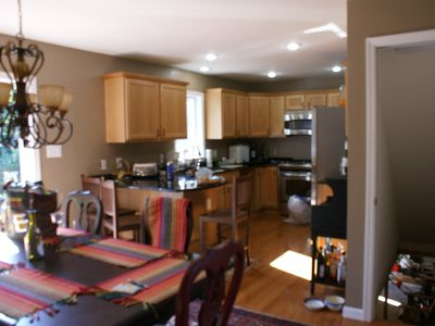 Twin Mountain house rental - Gourmet kitchen with dinning room