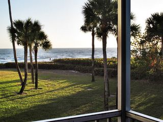 Sanibel Island condo photo - Incredible views out your screened Lanai