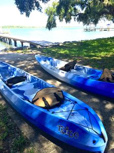 Free Tandem Kayaks for your use!