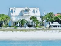 Luxury Beachfront 5BR, 5,000 Sqft Home with Private Heated Pool, Hot Tub, Wi-Fi