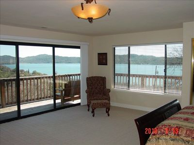 Faboulous panoramic view of Clear Lake from master bedroom!