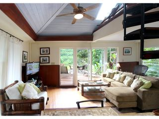 Wainiha house photo - Comfortable Living room with magnificent view