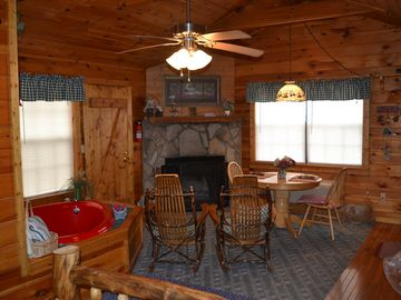Flat Creek cabin rental - beautiful cabin for two close to pigeon forge