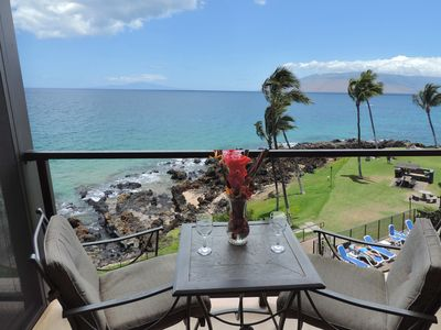 Lanai with an oceanfront  view of Lanai, Kaho'olawe & Molokini!