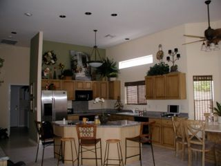 Open Kitchen and Family room - Gilbert house vacation rental photo
