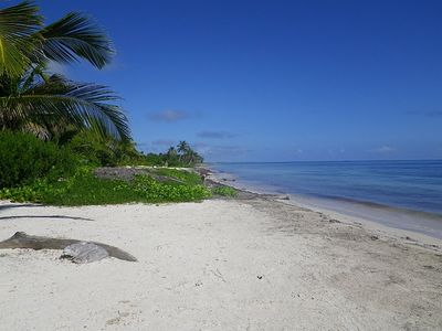 Beach looking north-so lovely. A vacation to call your  own. Casita Dragonfly