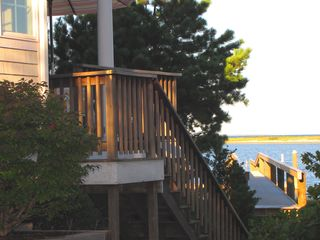 New Seabury house photo - Walk from the deck to the new dock!