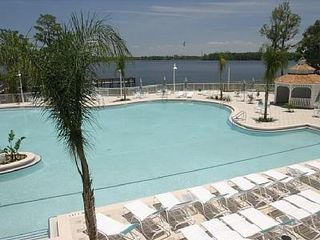 Lake Buena Vista condo photo - Pool overlooks Lake Bryan