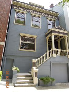 San Francisco house rental - Front of house