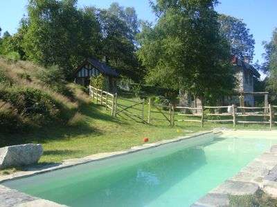 CHALET IN NATURE WITH POOL LAKE MAJOR LAKE ORTA