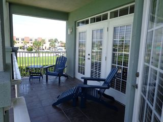 St. Augustine Beach condo photo - Tiled Patio Master Bed Room Entry