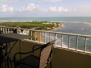 Luquillo condo photo - Panoramic view from the 30 foot balcony