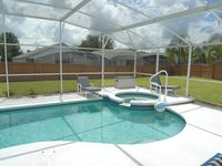 Your Home Away from Home, near Disney, with southern exposure pool and spa,
