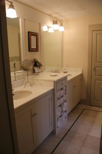 Master bath with radiant heat floors