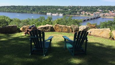 Extraordinary Home on the River Bluff Directly Across from Stillwater, Minn.