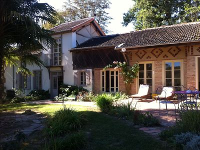 Marciac, family country house with private pool