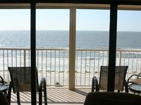 Huge 1BR/1BA Gulf Front Ocean View Condo on Sandy Beach
