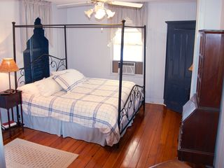 Avon-by-the-Sea house photo - Blue King bedroom on 2nd floor with separate side room with crib and child's bed