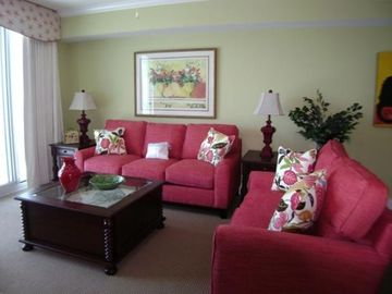 Okaloosa Island condo rental - Living Room