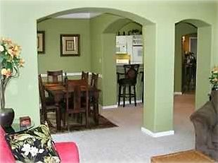 Biloxi condo rental - Open Floor Plan.