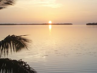 Big Pine Key house photo - Sunrise from the private verandah attached to the bedrooms.