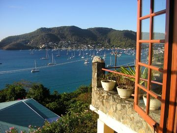 Bequia villa rental - Harbor View from Coco's Villa