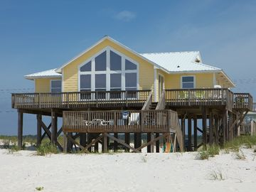 Gulf Shores house rental - House View From Beach - House View From Beach
