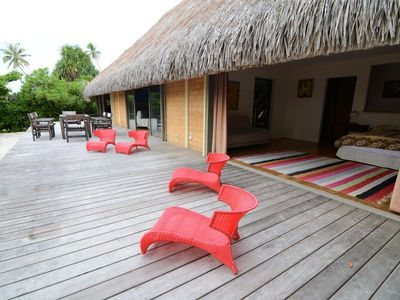 Terrace - Villa Miki Miki - Vacation rental - Moorea