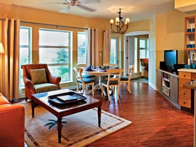 Living Room and Dining Area at the Club Intrawest Sandestin Resort