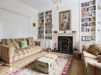Classic townhouse with period features, antiques and skylit kitchen