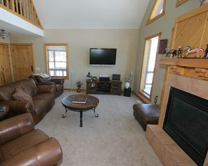 Pagosa Springs house photo - Great Room Media Center & Gas Fireplace