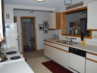 North Conway condo photo - Plenty room for cooking.