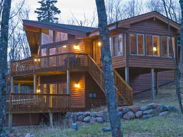 Lutsen house rental - Large 5 bedroom mountain lodge.