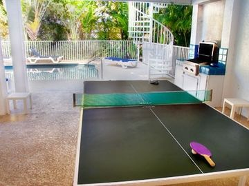 Ping Pong Table - There Is Also A Pool Table