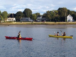 Portsmouth house photo - Round Islanders off to Sagamore Creek for an evening paddle.