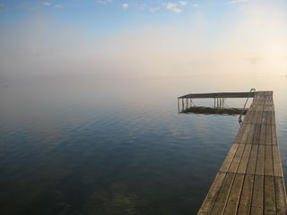 Bellaire / Shanty Creek cottage photo - Early morning on Lake Bellaire