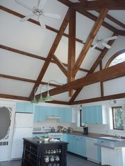 Ogunquit house photo - Beautiful post and beam kitchen