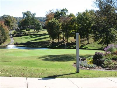 Branson Canyon condo rental - The Pointe Royale Golf Course is BEAUTIFUL! Bring your clubs!
