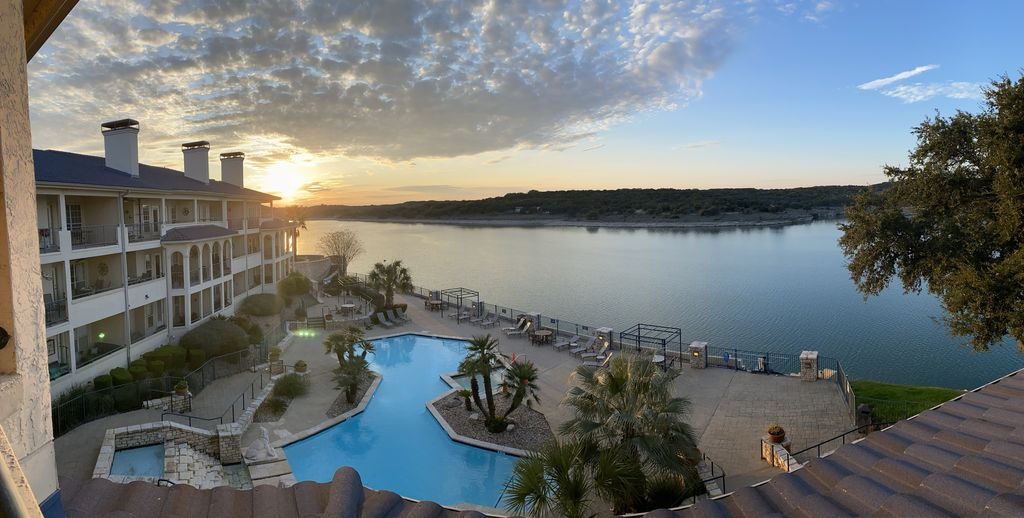 Luxury Lake Travis Waterfront Villa with Spectacular Sunset Views