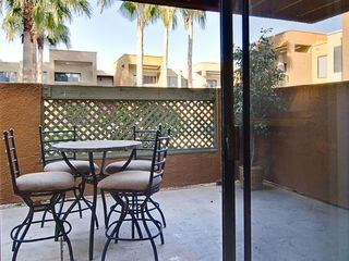 Old Town Scottsdale condo photo - patio with dinning for 4