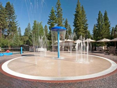 Northstar recreation center - private club. Kids water play.