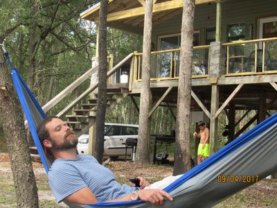 Cabin on the Canoochee River in Claxton, GA